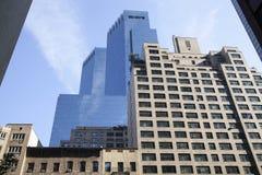 Manhattan Urban View Stock Photo