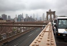 Brooklyn bridge. New York royalty free stock photos