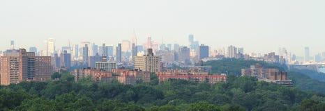Manhattan van Bronx Royalty-vrije Stock Afbeeldingen