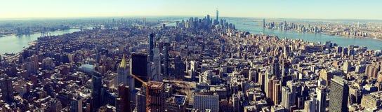 Manhattan van de binnenstad royalty-vrije stock fotografie
