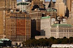 Manhattan van de binnenstad Royalty-vrije Stock Foto's