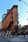 Manhattan van de binnenstad, New York royalty-vrije stock afbeelding