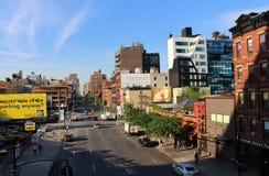 Manhattan van de binnenstad, New York royalty-vrije stock fotografie
