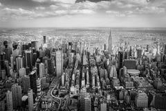 Manhattan van de Hemel Stock Afbeelding