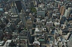Manhattan van hierboven Royalty-vrije Stock Foto
