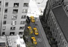 Manhattan van hierboven Royalty-vrije Stock Foto's