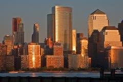 Manhattan van New Jersey Stock Foto