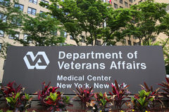 Manhattan Veterans Administration Medical Center in New York. NEW YORK - JULY 11, 2017: Manhattan Veterans Administration Medical Center in New York royalty free stock photography