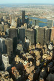 Manhattan view Royalty Free Stock Images