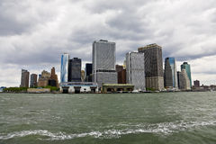 Manhattan view from the bay Stock Photo