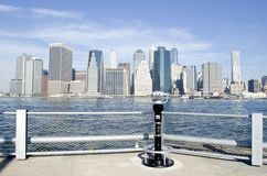 Manhattan View Stock Images