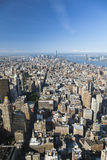 Manhattan View, editorial Royalty Free Stock Photography