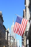 Manhattan view of Empire State Building Royalty Free Stock Images