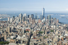 Manhattan View Royalty Free Stock Photos