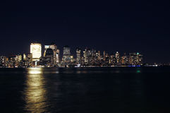 Manhattan view from Jersey city Royalty Free Stock Image