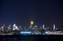 Manhattan view from Jersy city Stock Photography
