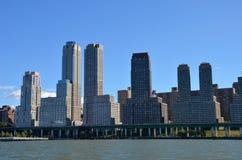 Manhattan view, New York City Stock Images