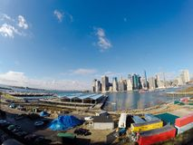 Manhattan view Royalty Free Stock Photos
