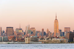 Manhattan view Stock Photography