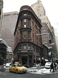 Manhattan view in the winter, NYC Royalty Free Stock Photo
