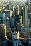 Manhattan - ville de travaux récents - les Etats-Unis Images libres de droits
