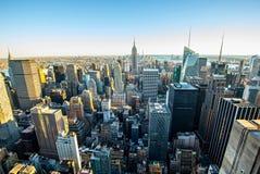 Manhattan - ville de travaux récents - les Etats-Unis Photo libre de droits