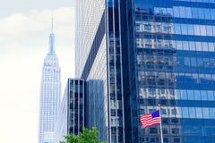 Manhattan 8vo sistema de pesos americano New York City los E.E.U.U. Foto de archivo libre de regalías