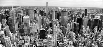 Manhattan-Vogelperspektive Lizenzfreies Stockfoto