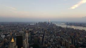 Manhattan vom Reich Stockfotografie