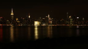 Manhattan von Brooklyn Stockbilder
