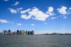 Manhattan VS Brooklyn Royalty Free Stock Photo
