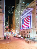 Manhattan Wall Street New York Stock Exchange Stock Images