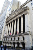 Manhattan Wall street Stock Photos