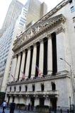Manhattan Wall street stock photos