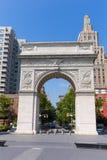 Manhattan Washington Square Park Arch NYC E.U. Fotos de Stock Royalty Free