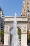 Manhattan Washington Square Park Arch NYC US Royalty Free Stock Photos
