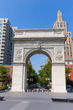 Manhattan Washington Square Park Arch NYC US Royalty Free Stock Photos