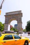 Manhattan Washington Square Park Arch NYC US Royalty Free Stock Photo