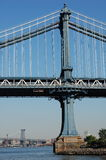 Manhattan and Williamsburg Bridges, New York City Royalty Free Stock Photo