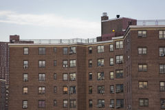 Manhattan-Wohnungsprojekte 1 stockbild