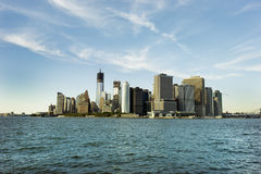 Manhattan - world's financial center Stock Photography