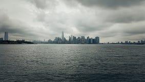 Manhattan wyspa Zdjęcie Stock