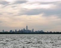 Manhattans地平线 免版税库存图片