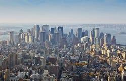Manhatten. An image of Manhatten New York America Stock Photos