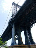 Manhatten bridge Royalty Free Stock Photos