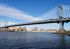 Manhatten Bridge Royalty Free Stock Photo
