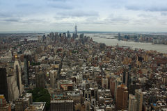 Manhatten Skyline from North Royalty Free Stock Images