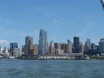Manhatten. View of Manhattan from the circle cruise, New York Stock Photo