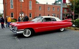 Manheim, PA: Классическая выставка автомобиля Кадиллак Стоковые Фотографии RF