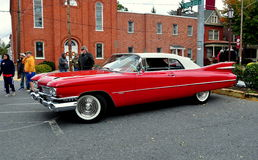 Manheim PA: Klassisk Car Show Cadillac Royaltyfria Foton